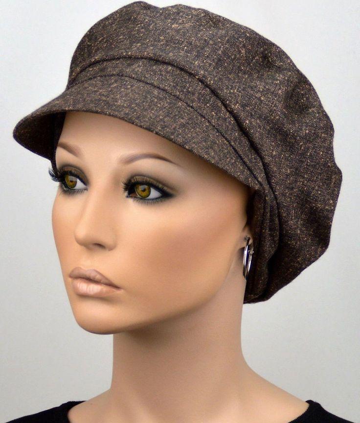 Damen Mütze ELEGANCA SCHIRMMÜTZE Chemo Ballonmütze Visor Schirm Kappe Alena NEU | eBay