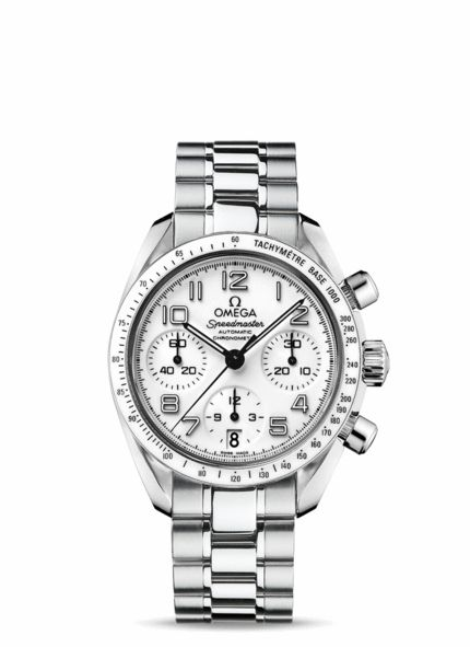 OMEGA Watches: Speedmaster Automatic Chronometer - Steel on steel - 324.30.38.40.04.001