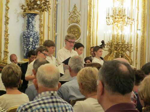 Vienna, concert at the Liechtenstein Palace