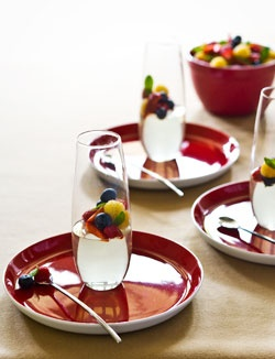 Matt Moran's champagne jelly