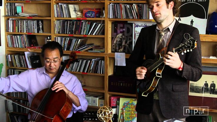 Quarter Chicken Dark ~The genre-bending cellist Yo-Yo Ma heads a dream team of string players -- Edgar Meyer, Chris Thile, Stuart Duncan -- who borrow from bluegrass. The quartet, plus singer Aoife O'Donovan perform three songs from their album The Goat Rodeo Sessions at the NPR Music offices.