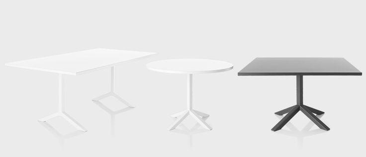 Funk table, designers Johannes Foersom & Peter Hiort-Lorenzen | Lammhults