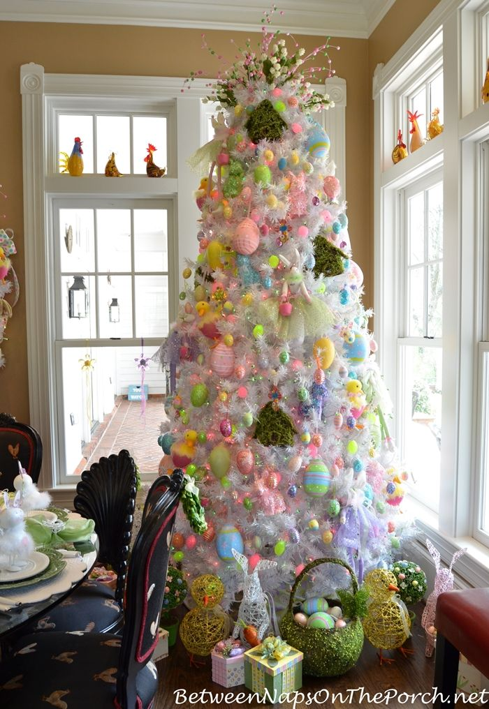 Decorate an Easter Tree this year for your family and friends from Between Naps on the Porch.