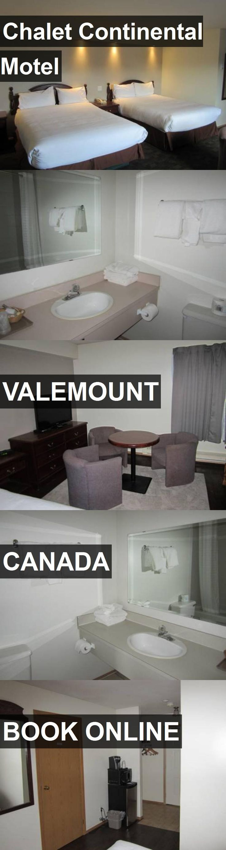 Hotel Chalet Continental Motel in Valemount, Canada. For more information, photos, reviews and best prices please follow the link. #Canada #Valemount #travel #vacation #hotel
