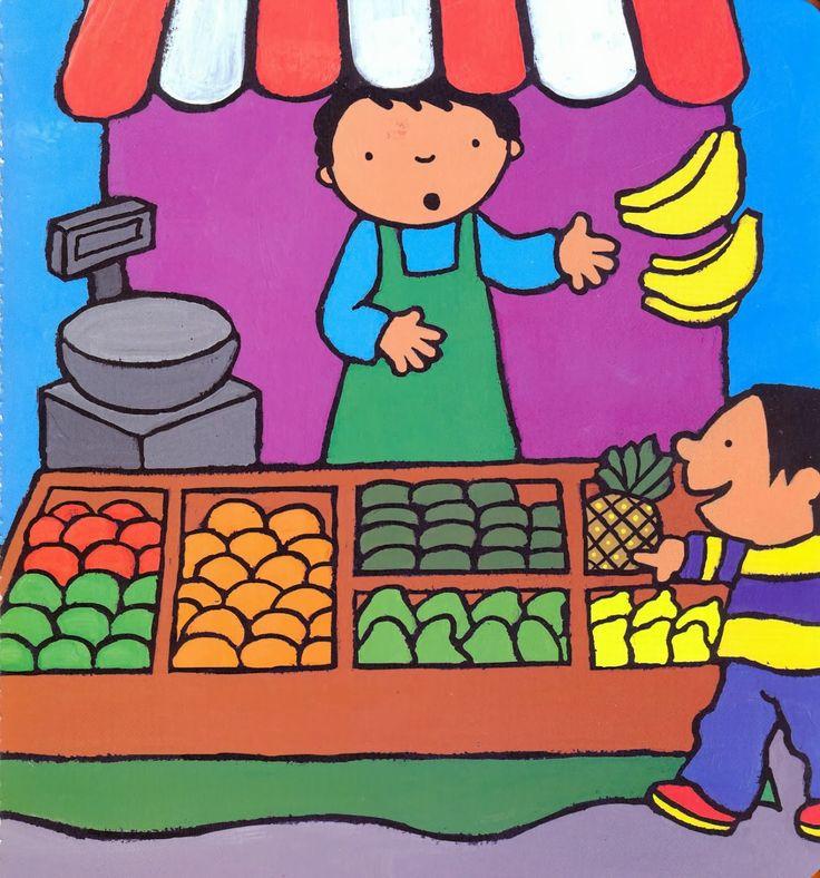 Anna eet graag fruit - prent 2