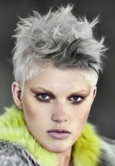 31 Best Ausgefallene Frisuren Images On Pinterest Hair Cut Funky