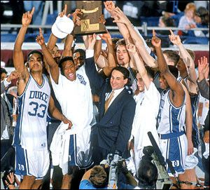 1992 National Champion Duke Blue Devils college basketball team. One of my favorite all-time teams.