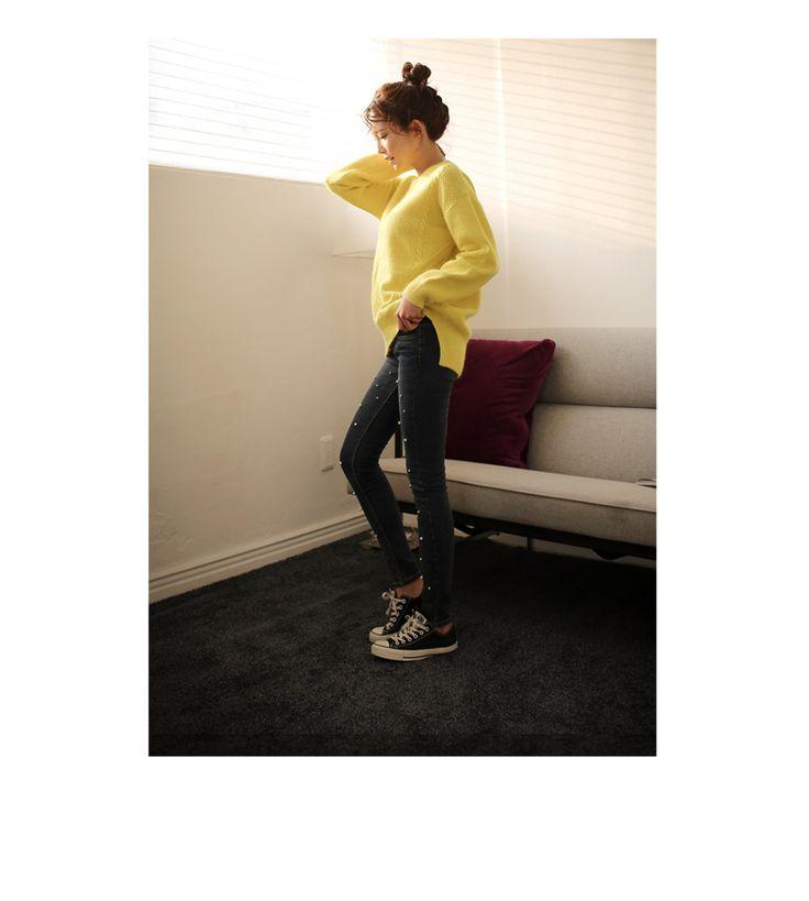 Womens Clothing Store [VANILLAMINT] 148 napping Jeans / Size : 26-29 / Price : 53.57 USD #dailyllook #dailyfashion #fashionitem #bottom #pants #jeans #skinnyjeans #denim #ootd #vanillamint http://en.vanillamint.net/ http://cn.vanillamint.net/ http://jp.vanillamint.net/