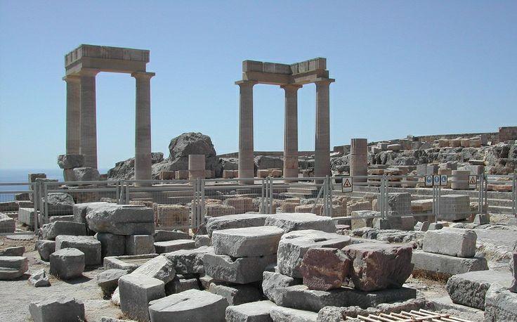 Vakantie Rhodos Lindos - Acropolis