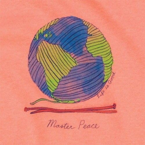 Master Peace Long Sleeved Cotton T-Shirt