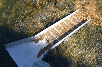 Placer mining for gold with a sluice box: Instruction on How to use a sluice box