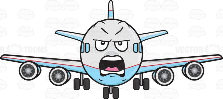 Yelling And Angry Jumbo Jet Plane Emoji #aeroplane #aircarrier #airbus #aircraft #aircraftengine #airplane #anger #angry #Boeing #carrier #engine #enginepropeller #face #horizontalstabilizer #jet #jetengine #jumbojet #landinggear #mad #madness #motor #passengerplane #plane #planeengine #propellers #shout #stabilizer #tail #verticalstabilizer #wheels #yell #yelling #vector #clipart #stock