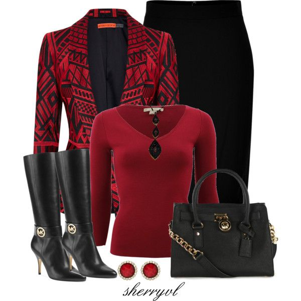 """Printed Blazer Contest"" by sherryvl on Polyvore"