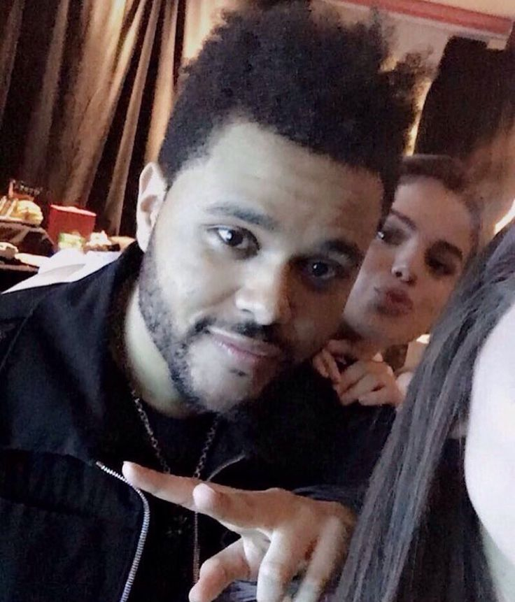 May 26th, 2017: Selena Gomez and Abel Tesfaye (The Weeknd) backstage at his concert in Toronto, Canada