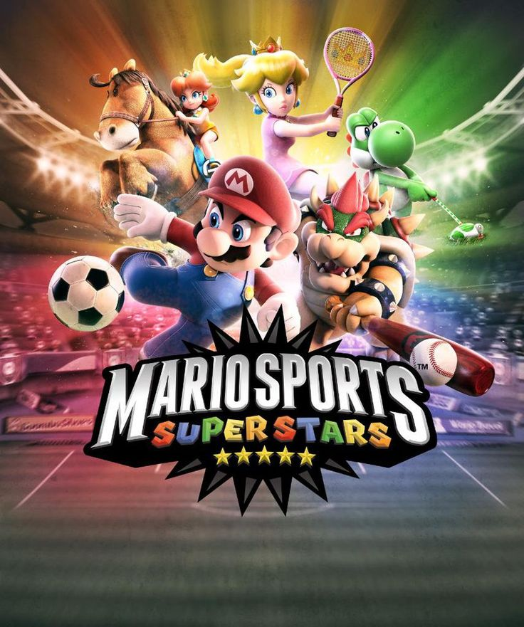 Mario Sports Superstars game by earthbouds on DeviantArt