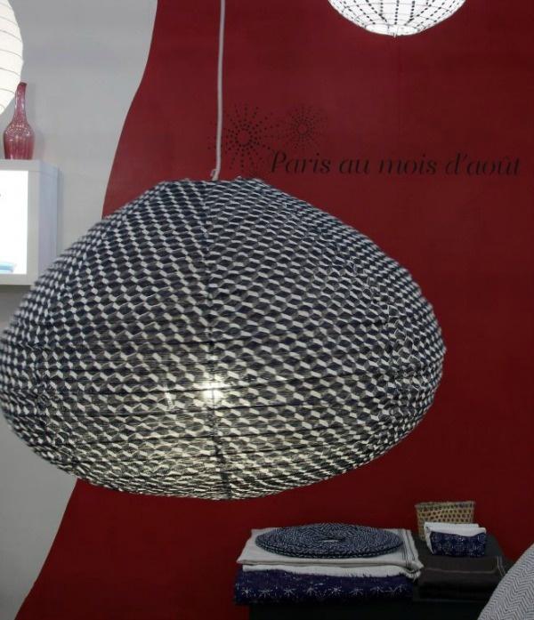 Suspension UFO Blue Lejos à Maison et Objet 2013 ! / Paris au mois d'aout