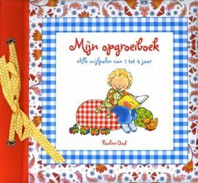 Mijn Opgroeiboek van Pauline Oud is het vervolg van Baby's eerste jaar. Vanaf het eerste tot het vierde jaar kan je mooie en bijzondere momenten vastleggen die je zeker niet wilt vergeten. Daarnaast is er net als in de andere boeken ruimte voor foto's en staan er leuke weetjes en ideetjes in vermeld.