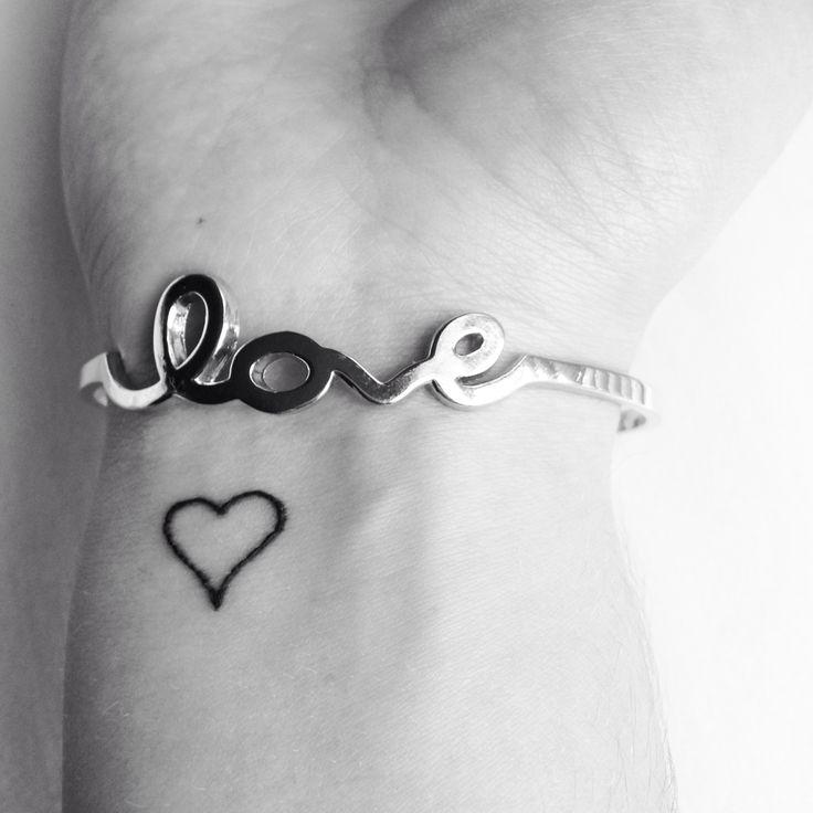 My heart wrist tattoo