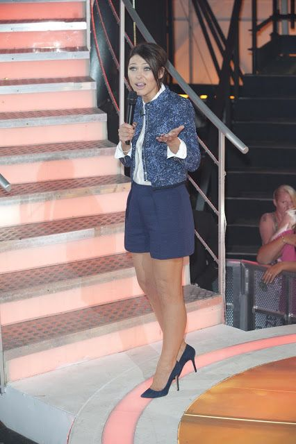 Anyone like Emma Willis blue shorts and jacket on tonight's Big Brother eviction show? All the info is on the blog.