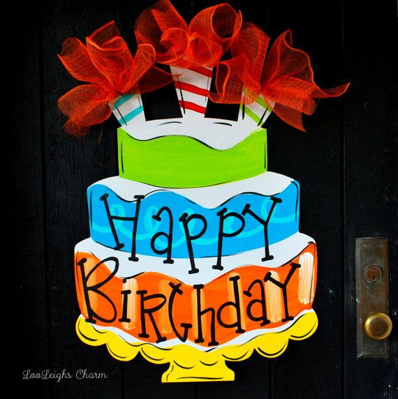 25+ Best Ideas About Birthday Door Decorations On
