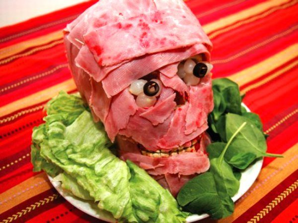 Meat Head, 50 Awesome Halloween Recipes