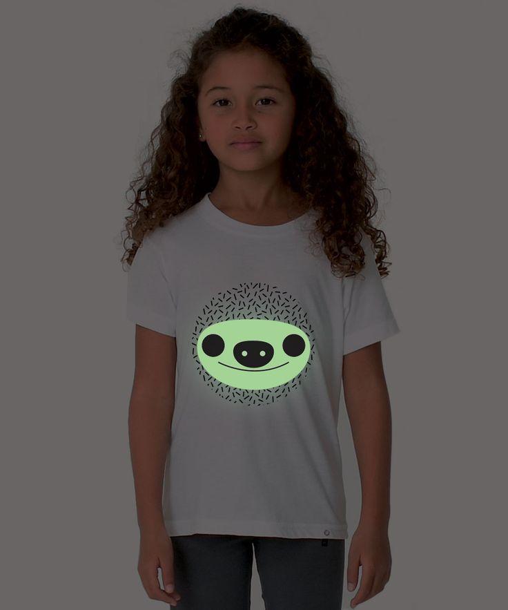 Kids T-shirt GLOWING SLOTH
