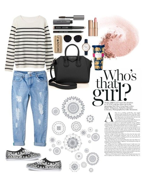 Untitled #18 by lauralionels on Polyvore featuring polyvore fashion style MANGO Vans Givenchy FOSSIL Una-Home NARS Cosmetics Bobbi Brown Cosmetics Charlotte Tilbury Lilly Pulitzer WallPops clothing