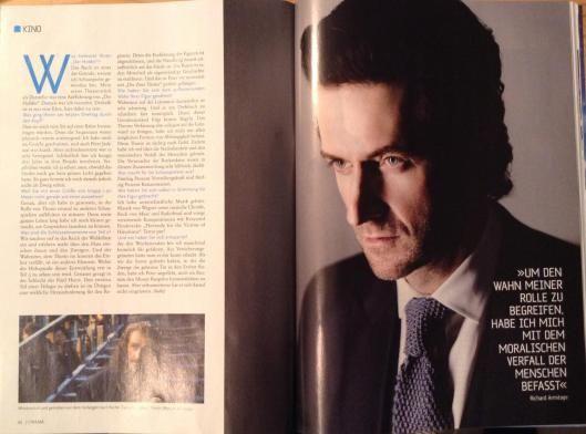 Interviews with Martin Freeman, Richard Armitage and Luke Evans in CINEMA magazine   Heirs of Durin
