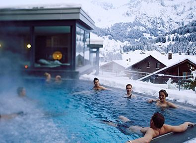 Going here in a few weeks! yay!  Wellnesshotel Schweiz | Wellness Hotel Adelboden | Alpen-Spa Schweiz | The Cambrian Hotel