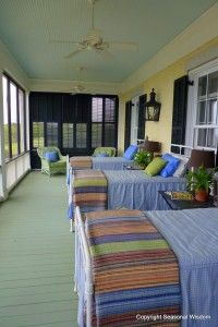 Take a tour of P. Allen Smith's home. That's his sleeping porch for listening to the crickets at night...