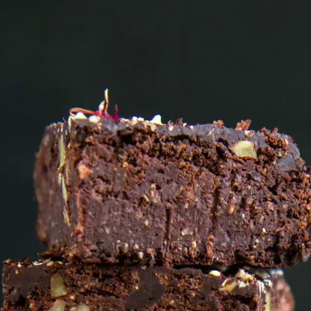 Protein Brownies vegan ohne Zucker, ohne Mehl