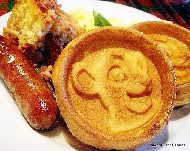 Lion King Waffles at Boma! #DisneyFood