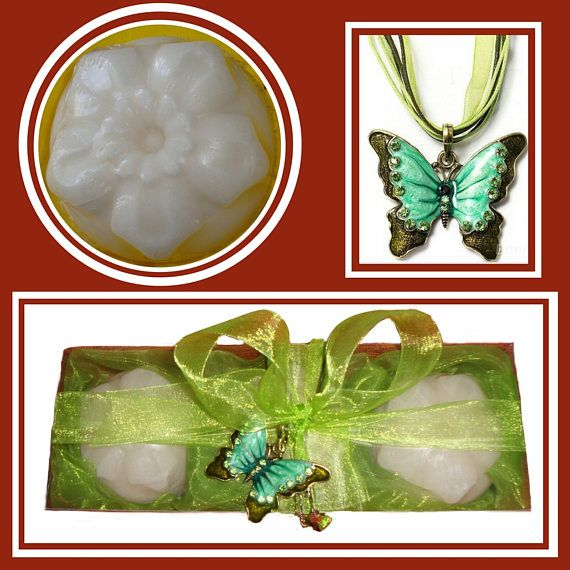 Fine Emerald Butterfly Necklace Gift Set for her Luxury