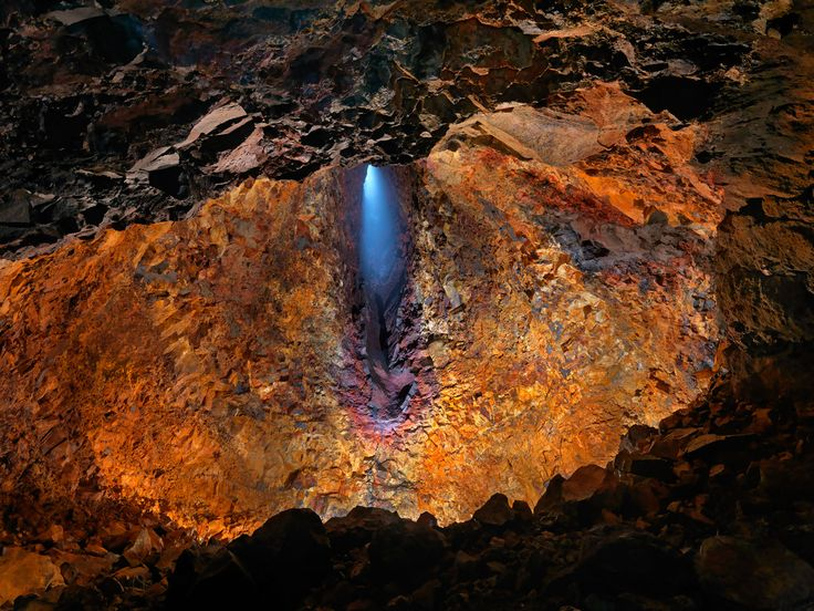 "Join this tour for a thrilling exploration inside a volcano's great magma chamber. This is a unique tour of Iceland's volcanic landscape unlike any other: from the inside! You will be picked up at your accommodation and taken to Thrihnukagigur, the ""Three Peaks Crater,"" in the Capital Area. After a"