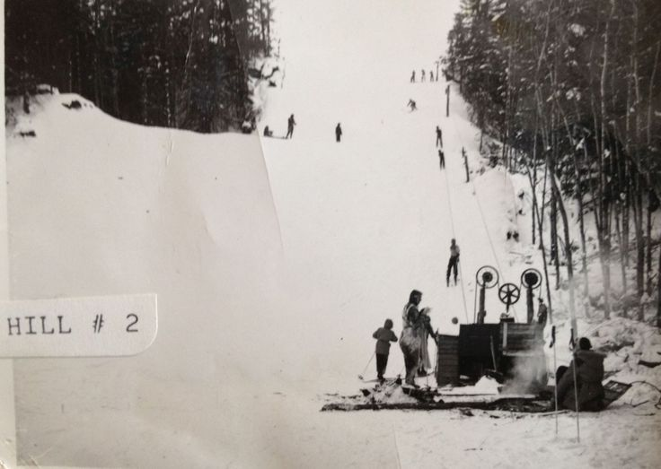 Original Valley Ski Hill near Castor, Alberta.