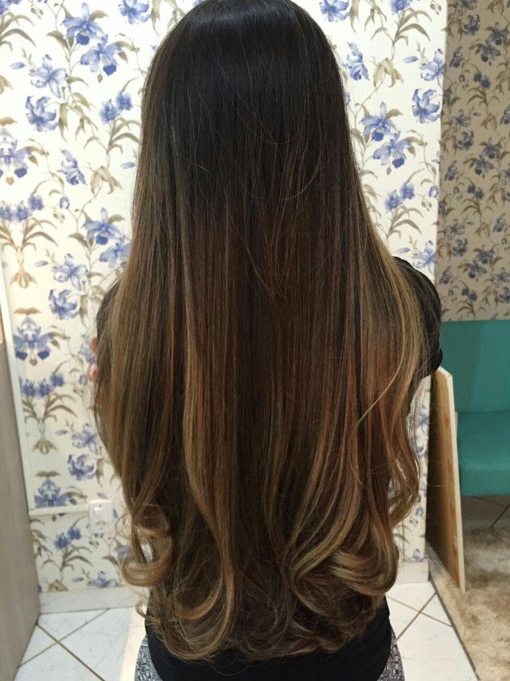 Ombr 233 Hair Em Morenas De Costas