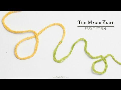 Hopeful Honey   Craft, Crochet, Create: How To: The Magic Knot (Yarn Join) - Easy Tutorial