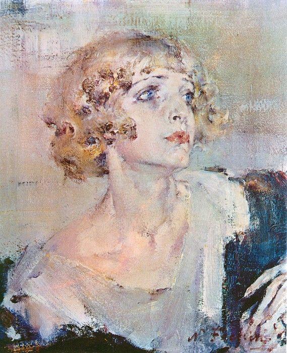 Принцесса (1940-е). Николай Иванович Фешин. Описание картины.