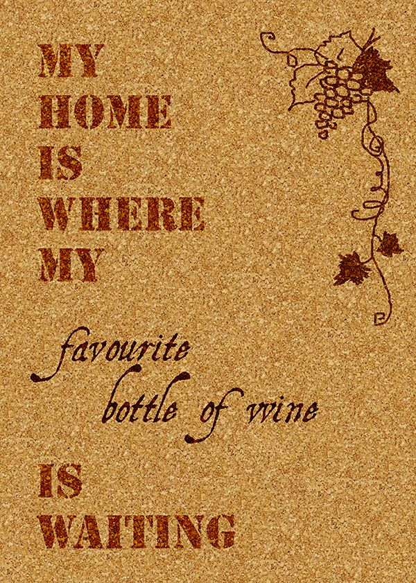 wino, wine, grapes, cork, sentence, home, DYI, poster,