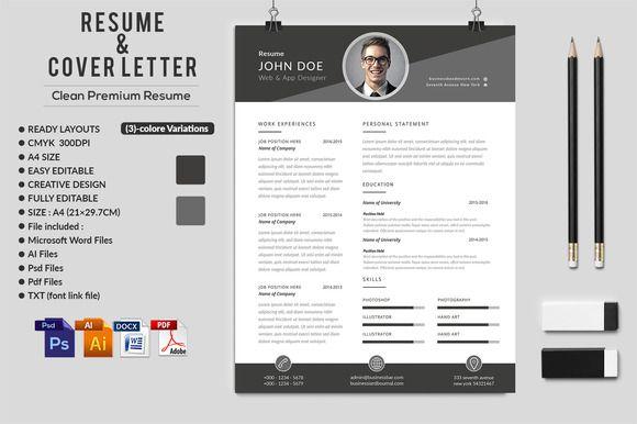 250 best Resume Templates images on Pinterest Resume design - fonts for resume