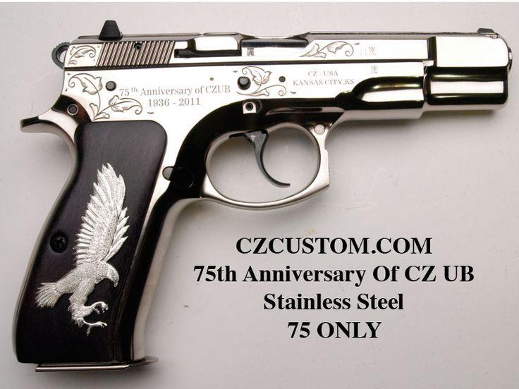 CZ 75 B 75TH ANNIVERSARY UB Stainless Edition