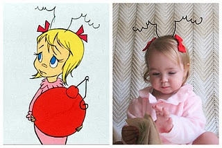 Why have I not made Elizabeth into Cindy Lou Who?