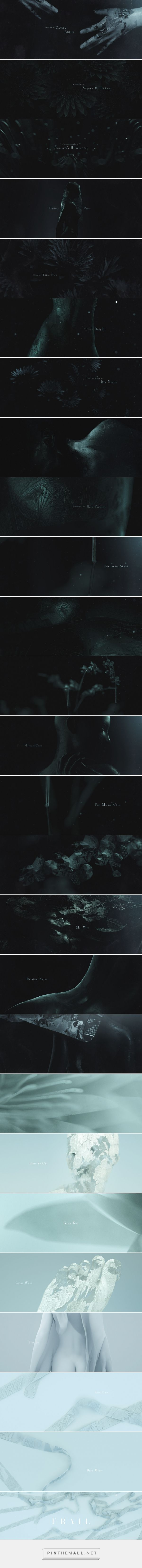 FRAIL - MAIN TITLE DESIGN : Ash Thorp... - a grouped images picture - Pin Them…