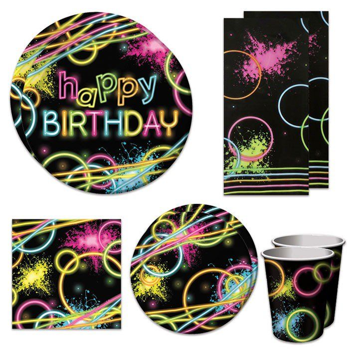 Glow Party Deluxe Party Packs (For 16 Guests)