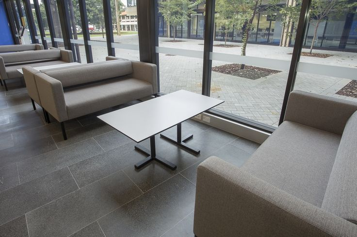 Custom coffee table - manufactured by Burgtec