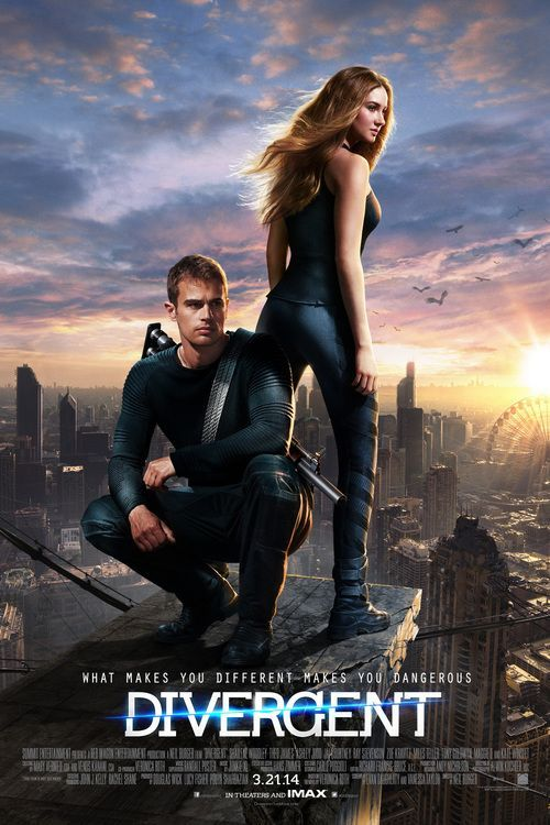Divergent (2014) Director: Neil Burger Writers: Evan Daugherty (screenplay), Vanessa Taylor (screenplay) Stars: Shailene Woodley, Theo James, Kate Winslet