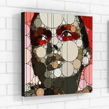 поп арт эмоции серии холст декор для дома офиса внутренние стены искусства shmakoff