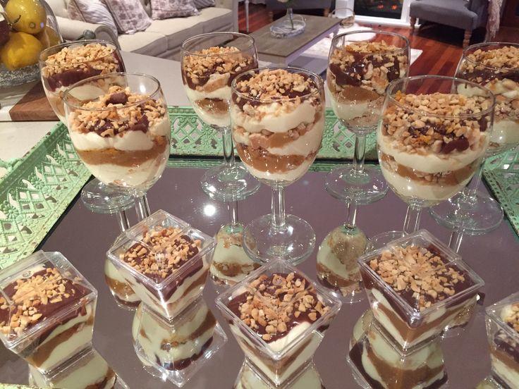 Gaytime Cups Ingredients; ➳ 1 packet arnotts milk coffee biscuits ➳600ml thickened cream/whipping cream ➳small thickened cream (for ganache) ➳vanilla essence ➳Paul's vanilla custard (small …
