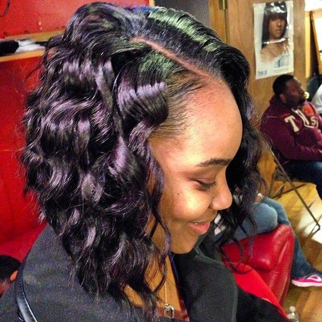 Sewin Bob By Deena Padgram Boblife Hair Styles Hair Curly