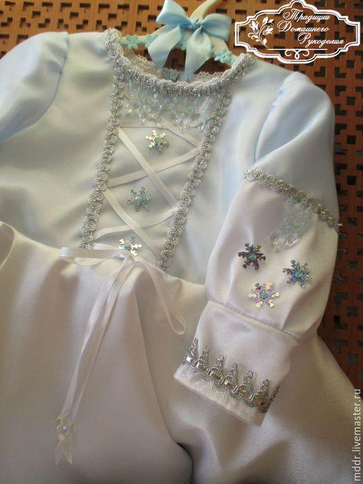Одежда для девочек, ручной работы. Ярмарка Мастеров - ручная работа. Купить Нарядное платье для девочки Олеся. Handmade. Белый